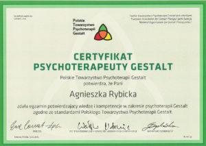 Certyfikowany psychoterapeuta Warszawa